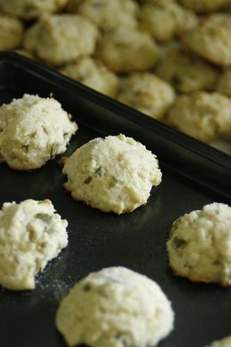 Lime Pumpkin Seed Sugar Cookies