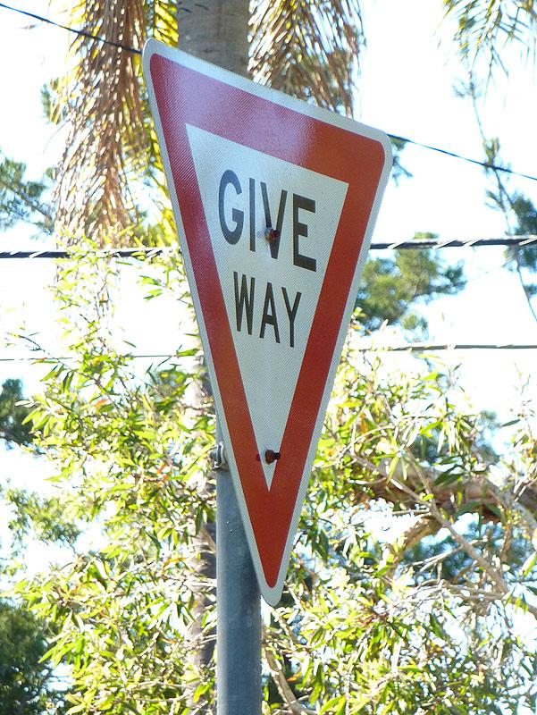 Give Way, 14/365