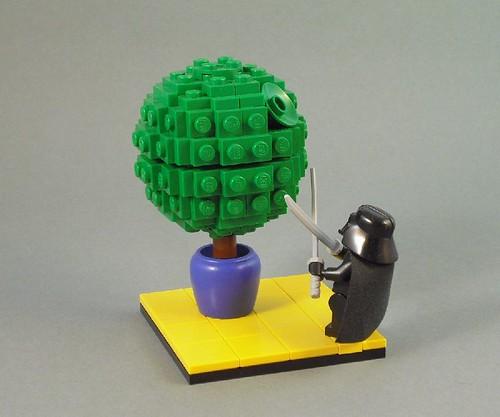 darthvader minifig gardener