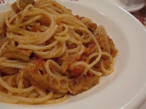トリッパのスパゲティ
