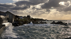 Rough Seas, St Mary's, Scilly Isles (Carol Drew) Tags: seascape storm clouds waves stmarys scillyisles roughseas stormyseas hughtown stormyscene astmospheric