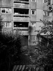 Castlefields Flats (Alex Stewart04) Tags: blackandwhite bw blackwhite flats runcorn castlefields alexstewart1