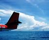 Seaplane Tail (S U J A) Tags: vacation sky holiday male clouds islands holidays taxi air tail transfer maldives seaplane dhivehi maldivian medhufushi dhivehiraajje republicofmaldives abigfave raajje