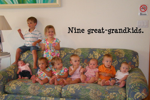 great grandkids