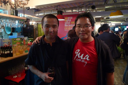 With director Lou Ye 娄烨