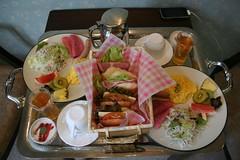 花彩亭の朝食
