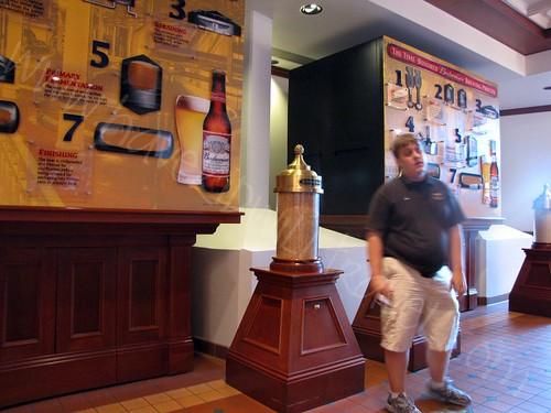 How Budweiser is Made, Brewhouse, Anheuser Busch, St. Louis, Missouri