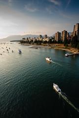 Vancouver skyline (B.A.O.N) Tags: canada beach vancouver boat britishcolumbia events can northamerica digitalcamera dslr yatch canonefs1022mmf3545usm burrardstreetbridge canoneos40d bibin skin hsbccelebrationoflight2009