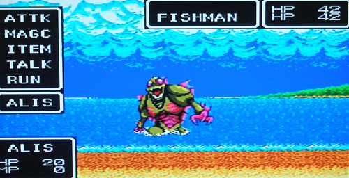 Phantasy Star - fishman
