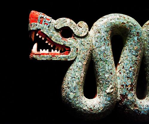 Aztec double-headed serpent (detail) by Neil_Henderson, on Flickr