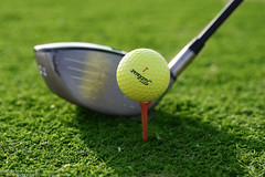Its time to play golf (MJ ) Tags: macro grass sport canon golf eos play 28 60mm efs grean efs60mm 40d