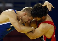 OLYMPICS-WRESTLING (Raj's Wrestling) Tags: china park boss eye training neck fun soldier pull foot washington referee war european fighter play power arm head muscle wrestling military teeth united leg over hard beijing twist crotch victory mat thigh national ko ear winner knockout match strong leader push wrestler strength states coaching olympic fighting forehead combat knee ankle gym tough submission turkish bicep strongman headbutt caulifower singlet oympic victorious grappling borba grappler semitic brydning gures worstelaar bryting birkozas