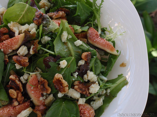 Fresh Fig & Walnut Salad