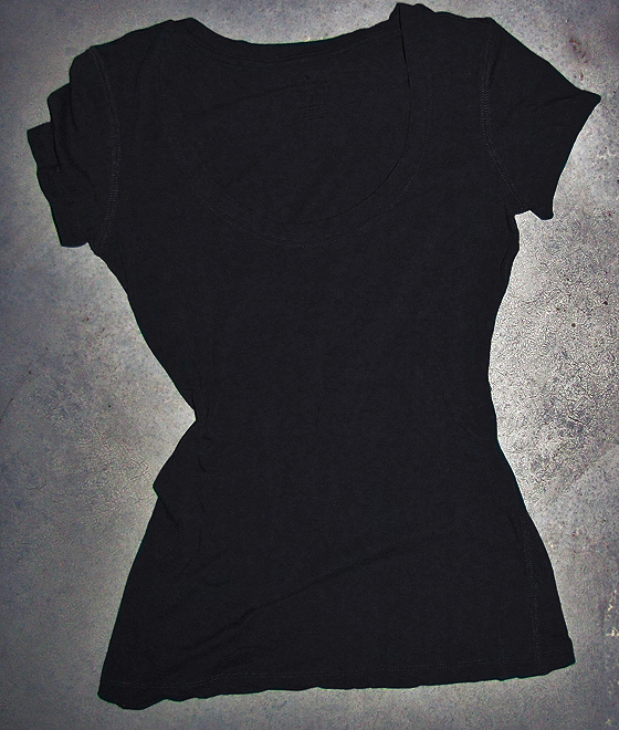 black-t-shirt