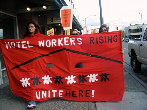 Hotel Workers Rising March, Anchorage