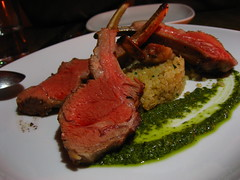 Lamb on couscous