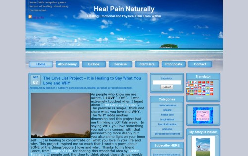 Heal Pain Naturally