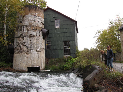 Checking out the Old Mill