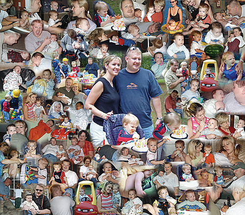 unique photo collage ideas