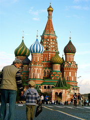 Grandfather and Grandson (Musical Mint) Tags: people church architecture cathedral russia moscow colourful redsquare russian orthodox stbasils stbasilscathedral russianorthodox theredsquare musicalmint awersome