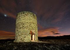 Torre de Lagunas de Somoza-León-Spain (dnieper) Tags: españa spain torre nocturna león maragatería lagunasdesomoza