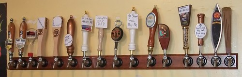 Taps during the Belmont Station Fresh Hop Week