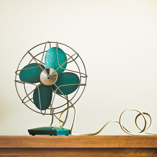 Retro / vintage / fan / wood / photography / Retro furniture / interior / design