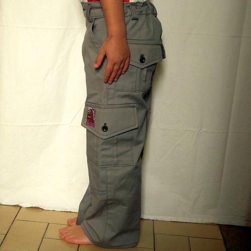 Cocoa Check pants