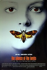 Silence of the Lambs  1991 Original Vintage US One Sheet Movie Poster (Clarice Starling) (Vintage Movie Posters) Tags: hanniballecter silenceofthelambs jodiefoster anthonyhopkins claricestarling vintagefilmposter originalmovieposter usonesheet