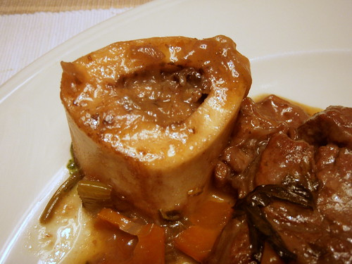 The bone of ossobuco is the yummiest part