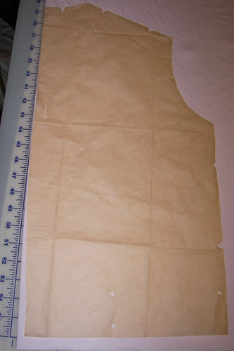 The Back Has No Seam So It Was Meant to be Placed on a Fold