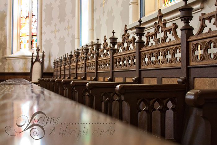 Basilica Chairs on the alter WM