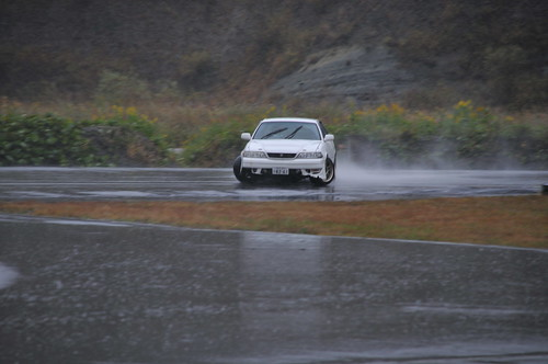 Alexi getting sideways. More on this car in pt. 3
