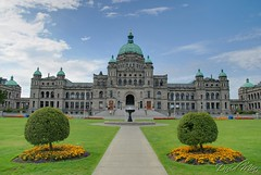Victoria, Canada - British Columbia Parliament Buildings (GlobeTrotter 2000) Tags: canada vancouver buildings island parliament columbia victoria british