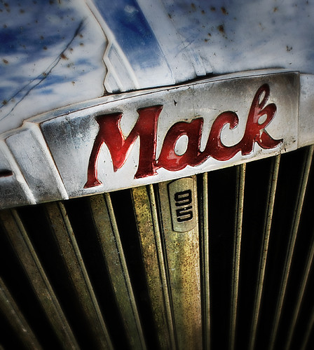 Is that your Mack truck... Mac?