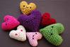 hearts2 (callie callie jump jump) Tags: vermont handmade crochet smiles yarn fiber amigurumi