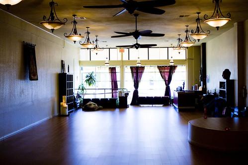 Large empty Yoga Stuido
