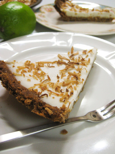 Vegan Coconut Lime Pie