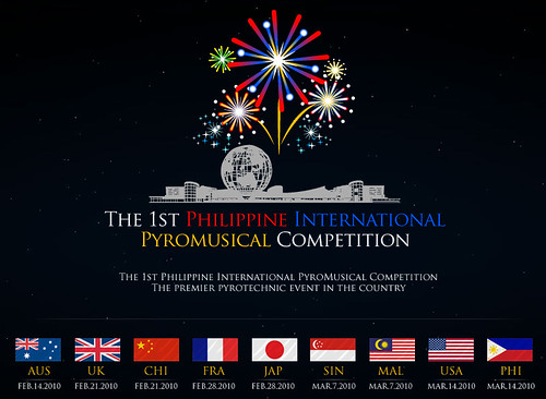 1st Philippine International Pyromusical Competition