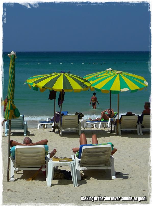 Patong Beach Sun-tanning