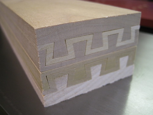 sliding dovetail ends