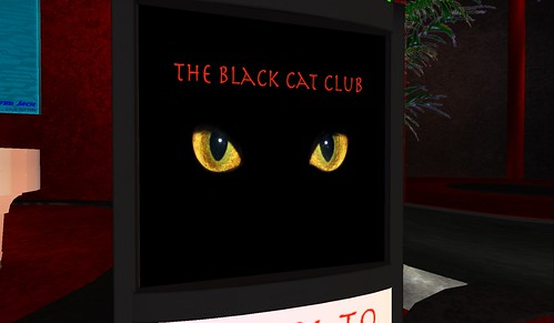 the black cat club in second life