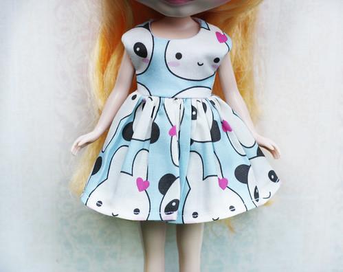 Panda and Rabbit Dress