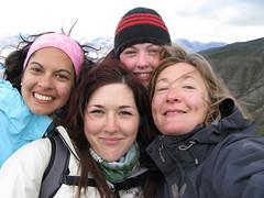 La professeure Isabelle Laurion (à l'extrême droite), du Centre Eau Terre Environnement