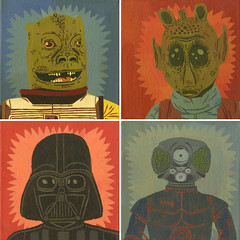 bounytuhunters_jackteagle (Jack Teagle) Tags: force space scifi monsters greedo theforce bossk 4lom zuckuss thedarkside bountyhunters starwarsdarthvader
