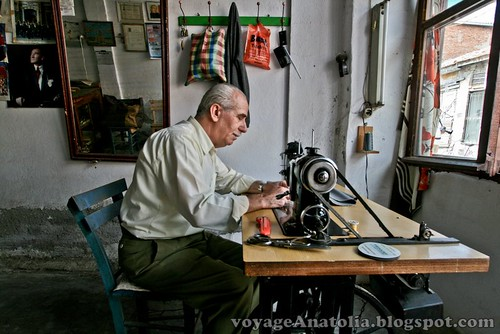 Tailor of Ayvalik by voyageAnatolia