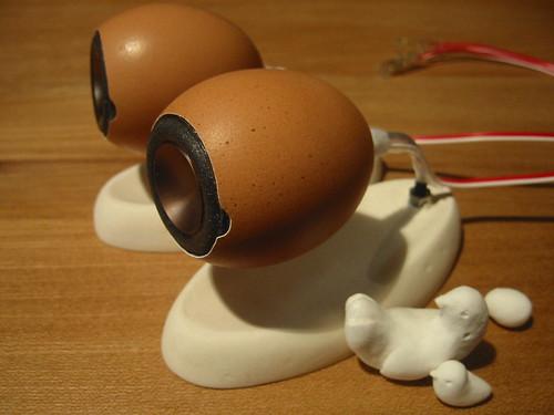 Eggshell Loudspeaker.