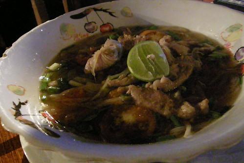 177.Anouxsa Guesthous的晚餐:Noodle Soup