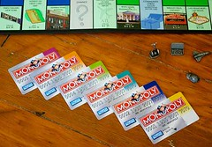 Monopoly 2008 with debit cards