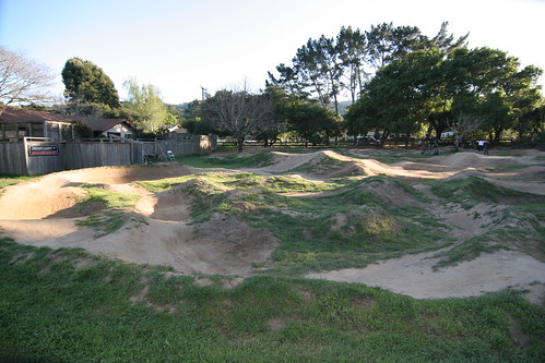 The holy grail of pumptracks: the Peacock Pit